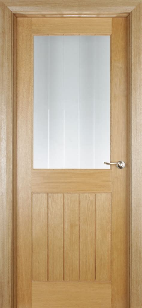 Oak Doors by Trade Spec Mexicano 1 Lite Oak Door 40mm