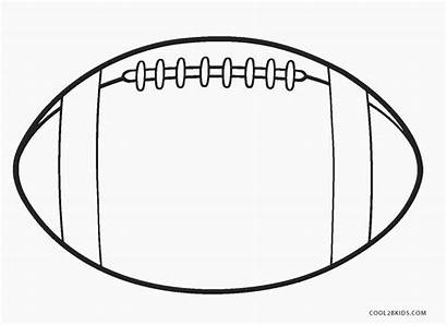 Football Coloring Pages Colouring Printable Jersey Cool2bkids