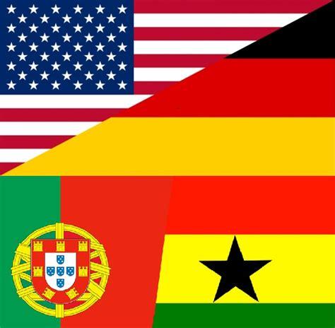 fifa world cup  usa  germany  portugal  ghana  tweets goals  highlights