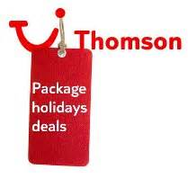 late deals from thompson holidays