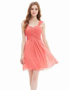 coral bridesmaid dresses under 100 dress home With robes corail
