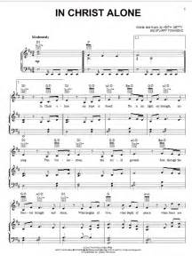 In Christ Alone Sheet Music Free