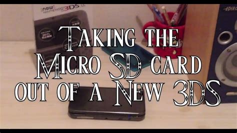 Log in to add custom notes to this or any other game. New Nintendo 3DS - Taking Out Micro SD Card (Tools You'll Need) - YouTube