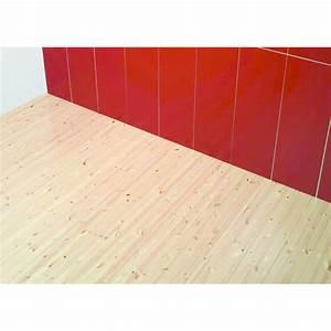 Parquet massif lamelle colle en pin wisa lam flooring upm for Parquet lamellé collé