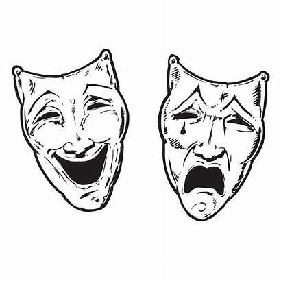Faces Theatre Wall Sticker Decal Stickers Option