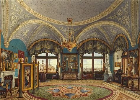interiors   winter palace  corner drawing room