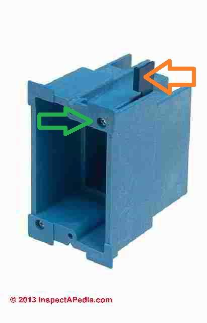 electrical box types sizes for receptacles when wiring