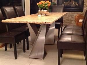Twisted, Metal, Table, Legs