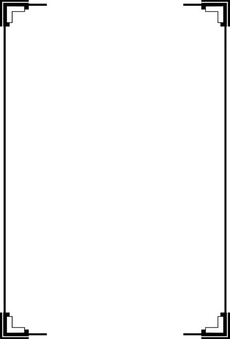 White Border Frame PNG Transparent Picture | PNG Mart