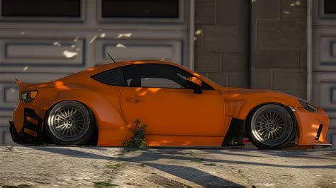 release vehicle toyota gt86 tuning gta5 mods