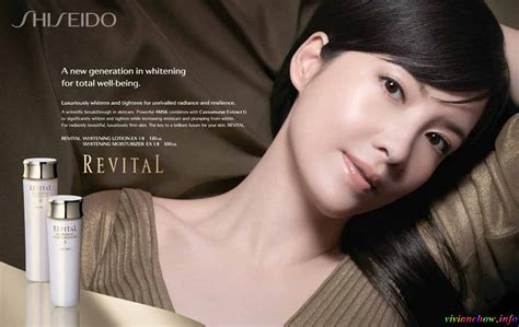 Making Of Vivian's Shiseido Print Ad 2009