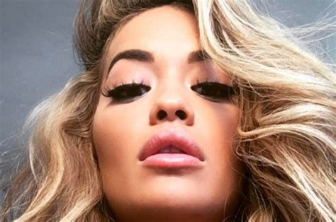 Rita Ora Your Song Singer Flashes Cleavage In Sexy Promo