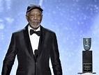 Morgan Freeman accepts life achievement honors at SAG ...