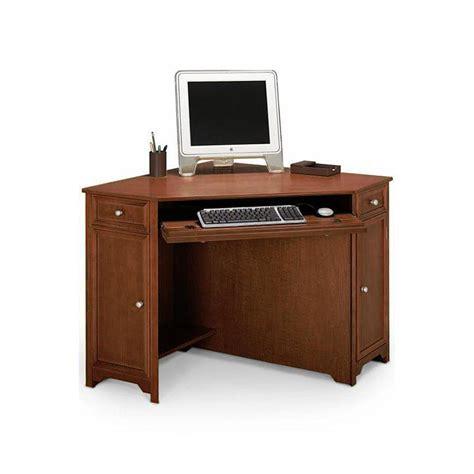 home depot computer desk home decorators collection oxford chesnut 50 in w corner