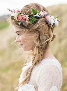 Floral Hair Pieces For Brides Beach Wedding Hairstyle