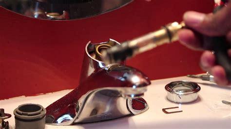 replace moen  water faucet cartridge youtube