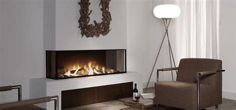 trisore modern  sided fireplace direct vent gas