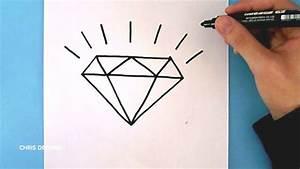 Dessin Facile Comment Dessiner Facilement Un Diamant Chris