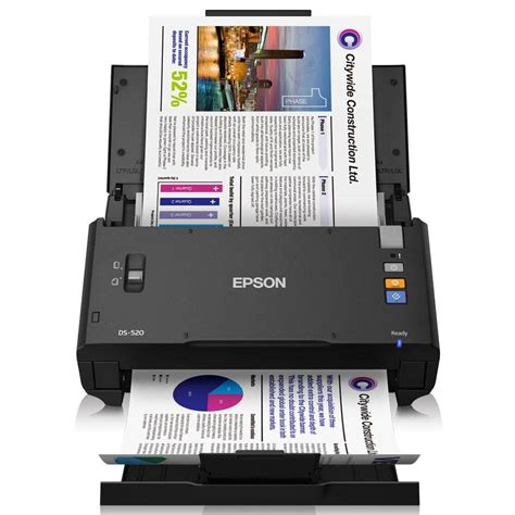 scanner de bureau rapide epson wf ds 520 b11b234401 scanner a4 rapide