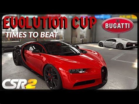 Let us take you to the 17 year long journey of evolution of the chiron! CSR Racing 2 - Bugatti Chiron Evolution Cup - Times to beat - YouTube