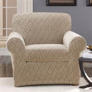 sure fit scroll classic club chair skirted slipcover reviews wayfair