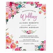 Classy Floral Blossom Watercolor Flowers Wedding Card Zazzle Create Wedding Invitation Card Online Create Invitations Wedding Card Design By Riskydesign On DeviantArt How To Make A Wedding Invitation Card Using Picture