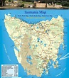 Large Tasmania Maps for Free Download and Print | High ...