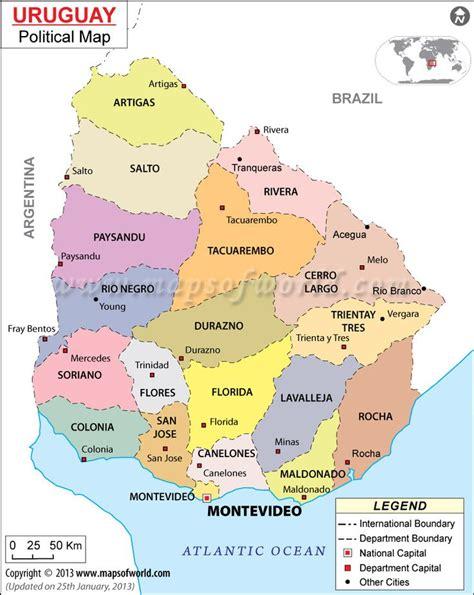ideas  uruguay map  pinterest map