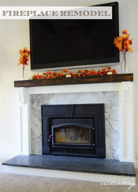 images  fireplace mantel love  pinterest