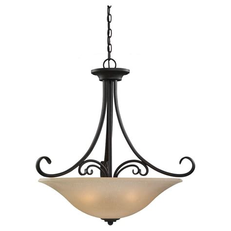 sea gull lighting vitelli 1 light autumn bronze pendant