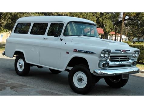 1959 Chevy Apache Railroad  Autos Post