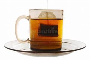 Tee Im Glas : glas tee mit beutel ende stockfoto bild von getr nk gesund 8886420 ~ Markanthonyermac.com Haus und Dekorationen