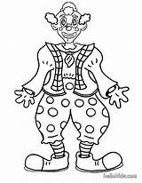 Clown Coloring Pages Face Circus Printable Clowns Creepy Scary Smiling Colouring Sheets Happy Funny Popular Coloringhome Evil sketch template
