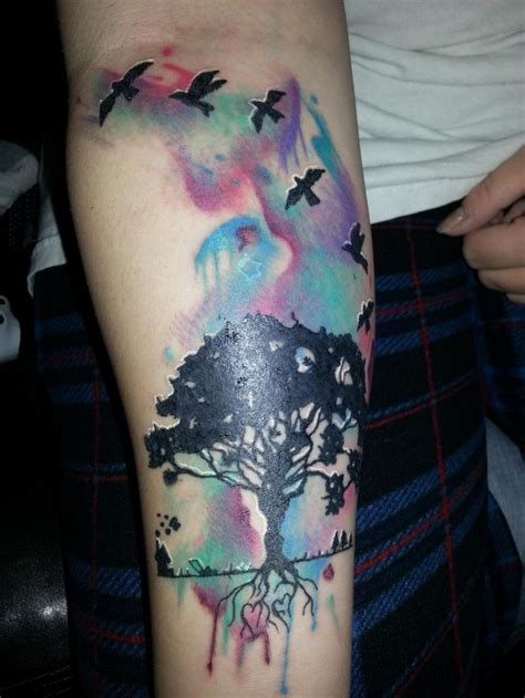 latest watercolor tattoos designs mens craze