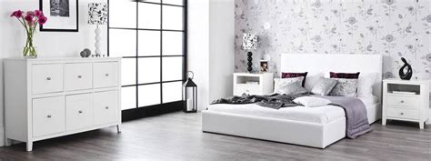 Statement Furniture   Brooklyn Bedroom Range   White