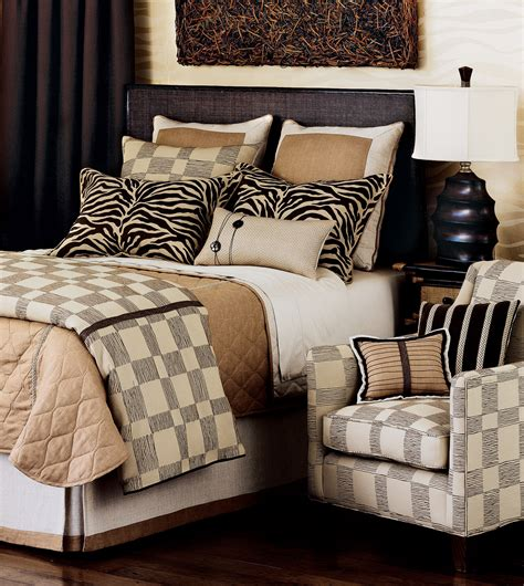 luxury bedding by eastern accents shamwari collection