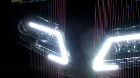acura tl custom drl signal switchback headlights