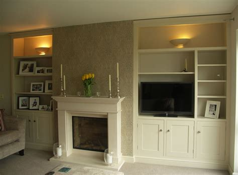 Stylish Cupboards by Make Use Of Your Chimney Alcoves By Fitting Them Out With