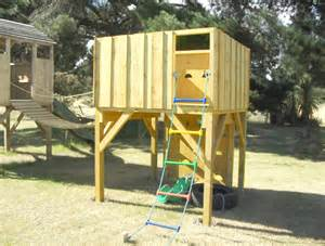 Elevated Tree Fort Platform
