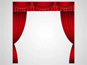 Theater curtains vector art graphics freevectorcom for Theatre curtains vector