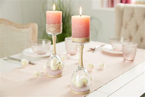 Kerzenständer Aus Weinglas Diy