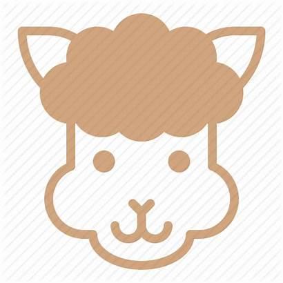 Alpaca Icon Llama Vectorified