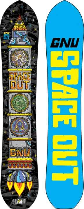 Gnu Space Out 20152016 Snowboard Review