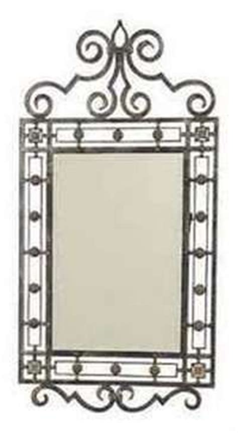 Wrought Iron Bathroom Mirror by 1000 Images About Wrought Iron Mirrors On