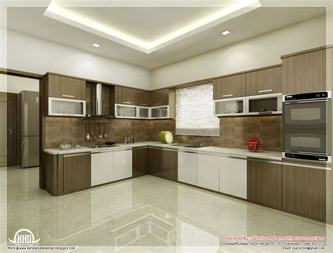Home Interiors Kitchen by Kitchen Dining Interiors Kerala Home Design Floor Plans