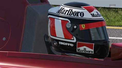 classic helmet gerhard berger  racedepartment