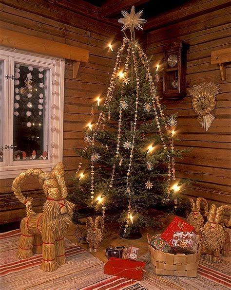 christmas tree in finland scandinavian christmas