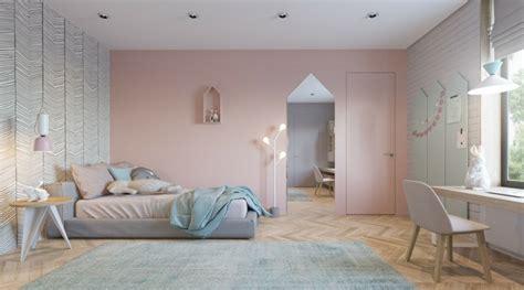 couleur chambre enfants décoration enfant chambres modernes pour fille et garçon