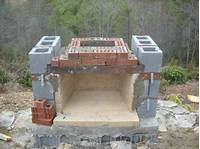 how to build a fireplace how to build outdoor fireplace | Building an outdoor fireplace part 2.. | Posted by laurel on ...