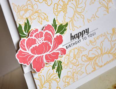 simply sted anniversary set pretty peonies